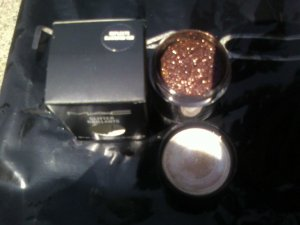 mac pro glitter brillants REFLECTS BLACKEND RED h0t ./ sample sz