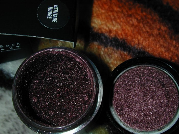 mac pro pigment Heritage Rouge    sample sz 1/4
