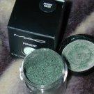 mac pigment Antique Green limited ed  sample sz