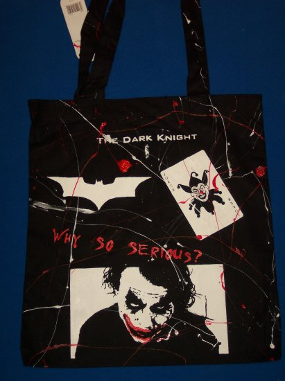 DIY The Dark Knight Tote/Handbag - Joker- Ledger - Batman