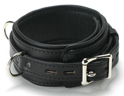 SL Premium Leather Locking Collar