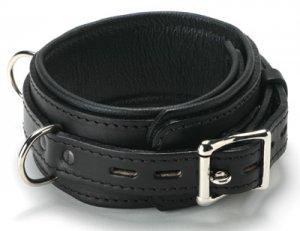 SL Premium Leather Locking Collar