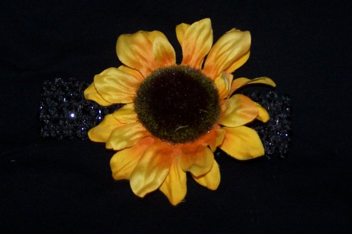 Sunflower Nylon Headband