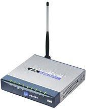Linksys Wireless-G Ethernet Bridge with 5-port Switch WET54GS5 USED