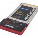 Buffalo WLI-CB-G54HP Wireless-G MIMO Performance Notebook Adapter-Used