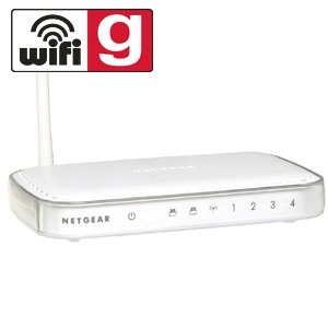 NETGEAR WGPS606 54 Mbps Wireless Print Server with 4-Port Switch