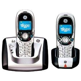 GE 28300EE2 DECT 6.0 Skype 2 In 1 w/ Dual Handsets SaveZone.org