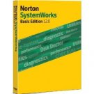 Norton SystemWorks Basic Edition 12.0 Retail version Sealed CD only