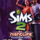 The Sims 2 Nightlife Expansion Pack PC CD