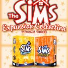 The Sims Expansion Collection Volume Three - Vacation & Superstar PC CD