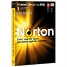 Norton™ Internet Security 2011 3PCs  21069958 retail sealed CD & code only
