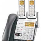 AT&T CL84209 DECT 6.0 Digital Corded/Cordless Phone with Two Cordless Handsets l Answering