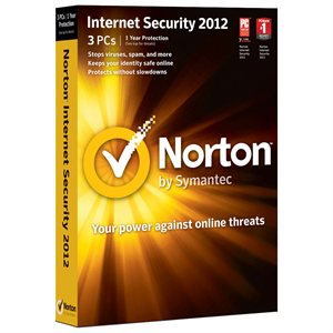 Norton� Internet Security 2012 - 1 User / 3 PCs - cover of retail box, Retail CD,