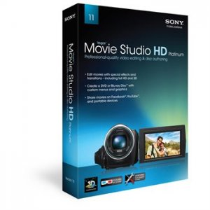 Vegas Movie Studio HD Platinum 11 - MSPVMS11000