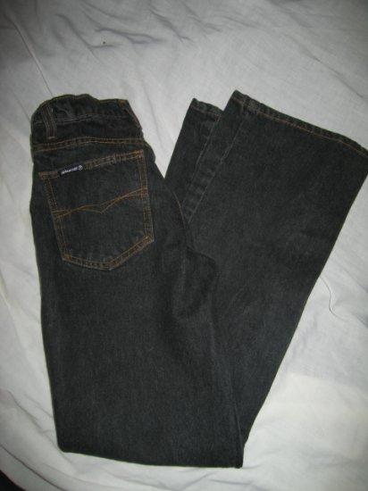 Women's or Teens Sz 1 Jordache Jeans-Black