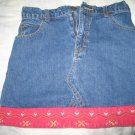 Jordache Mini Skirt Girls Sz 12