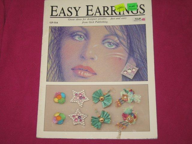 'Easy Earrings' 24 Page Book