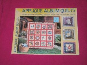 'Applique Album Quilts' 25 page Book