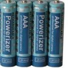 4 AAA NiMH Rechargable 850 MaH Batteries