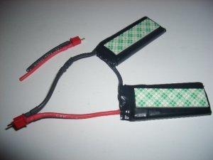 E-Tec 700 mAh Li-Poly 2S2P pack