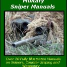 20 Military Sniper Training Manuals on CD