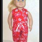 New Doll Clothing - Summer Things Capri Set for American Girl Doll