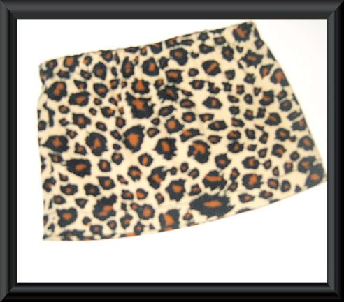 New Doll Clothing - Leopard Print Mini Skirt for American Girl Doll
