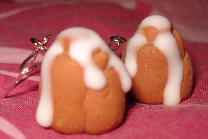 Cinnamon Rolls Earrings