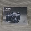CANON AE-1 ORIGINAL INSTRUCTION BOOK OWNERS MANUAL B294