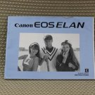 CANON EOS ELAN INSTUCTION BOOK OWNERS MANUAL - B187