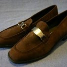 ROCKPORT BROWN SUEDE LOAFERS SHOES 7 M MINT