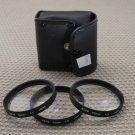HOYA AUTH 55mm +1/2/4 DIOPTER CLOSE UP LENS FILTER SET