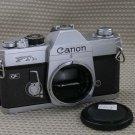 CANON FTb MANUAL ALL MECHANICAL 35mm FILM CAMERA EX+