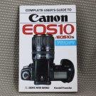 HOVE FOTO GUIDE BOOK CANON EOS 10 10s CAMERAS