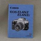 CANON EOS ELAN II E INSTUCTION BOOK OWNERS MANUAL B229