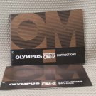 OLYMPUS OM-2 BOTH INSTUCTION BOOK OWNERS MANUAL B262