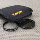 TIFFEN 46mm 0.6 NEUTRAL DENSITY & CLEAR LENS FILTER SET