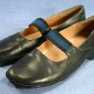 JOAN & DAVID CIRCA BLACK  MARY JANE FLATS SHOES 7 M