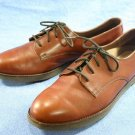 ROCKPORT CLASSIC WOMENS BROWN LEATHER WALKING SHOES 9 N