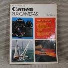 HP BOOKS CANON FD SLR FILM CAMERAS F-1 A-1 AE-1 AT-1