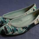 NINE WEST LIGHT BLUE FABRIC FLATS SHOES 5 M MINT