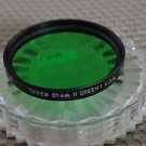 TIFFEN AUTH 55mm 11 GREEN 1 LENS FILTER USA EX+ F1099