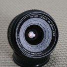 KONICA HEXAR AR 28mm WIDE ANGLE PRIME LENS E-P1 G1 EX+