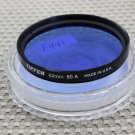 TIFFEN AUTH 62mm 80A COLOR CORRECTION LENS FILTER USA