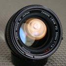 Canon FD 50mm f/1.4 S.S.C. Prime Lens F-1 A-1 EX+