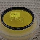 PROMASTER 55mm Y2 YELLOW LENS FILTER MINT F869