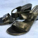 BANANA REPUBLIC HIGH WEDGE SOLE SLIDE SANDALS/SHOES 11