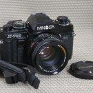 MINOLTA X-700 MPS SLR Film Camera w 50mm lens MINT