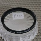 CANON AUTH 52mm  HAZE-1 FRONT LENS FILTER F770