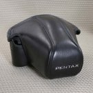 AUTH  PENTAX BLK LEATHERETTE CAMERA CASE P3 P30